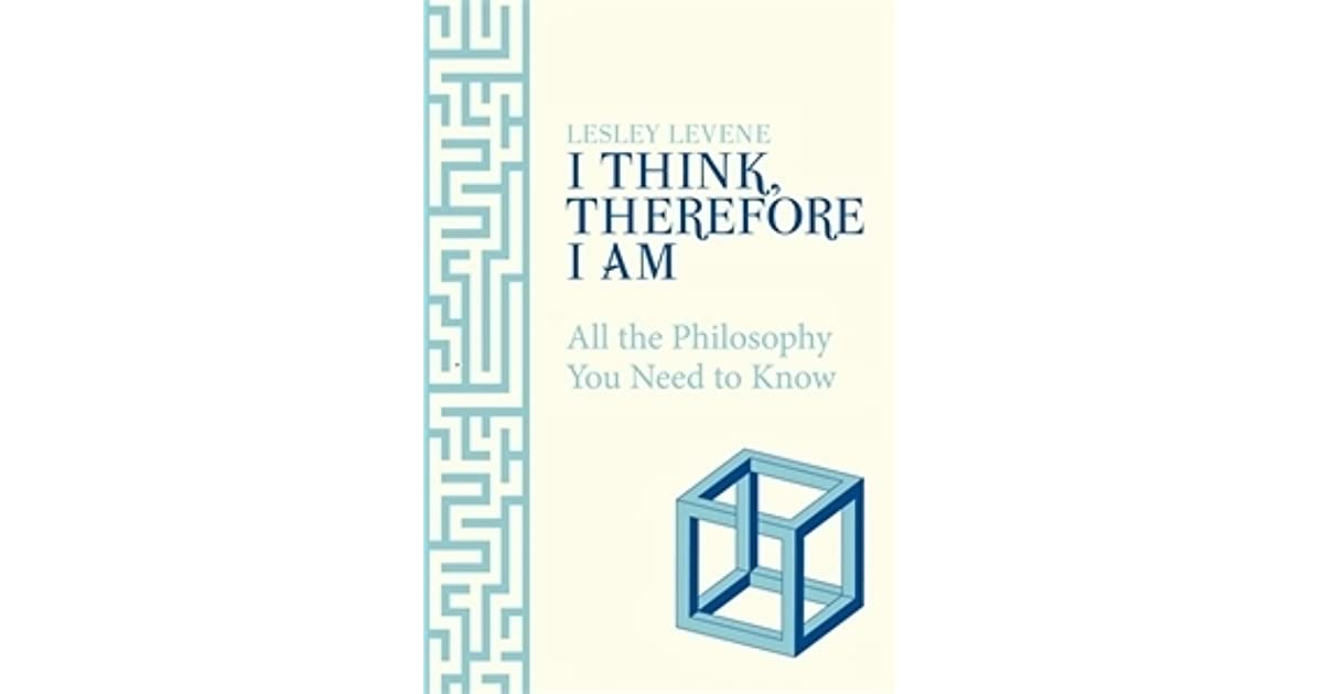 i think therefore i am book pdf