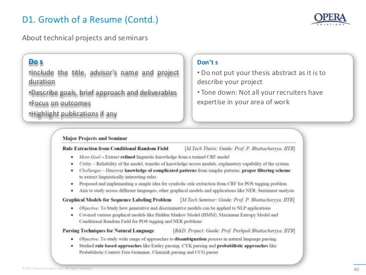how to highlight sample projects key initiatives in resume