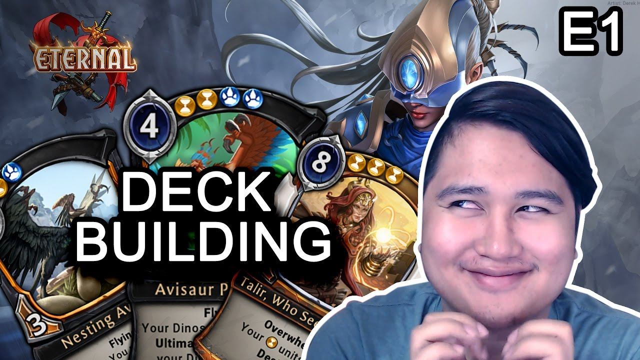 eternal card game deck building guide