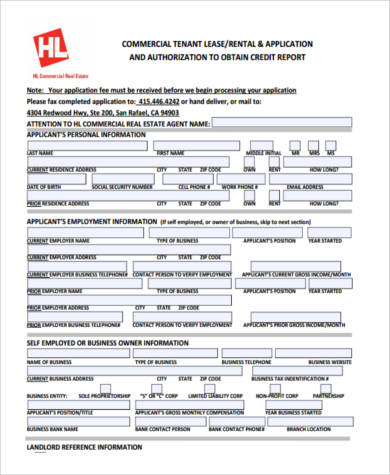 lease credit application