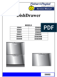 fisher and paykel dd603 user manual