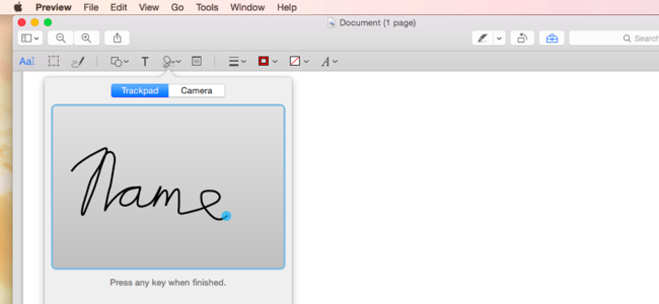 how do i add an electronic signature to a pdf