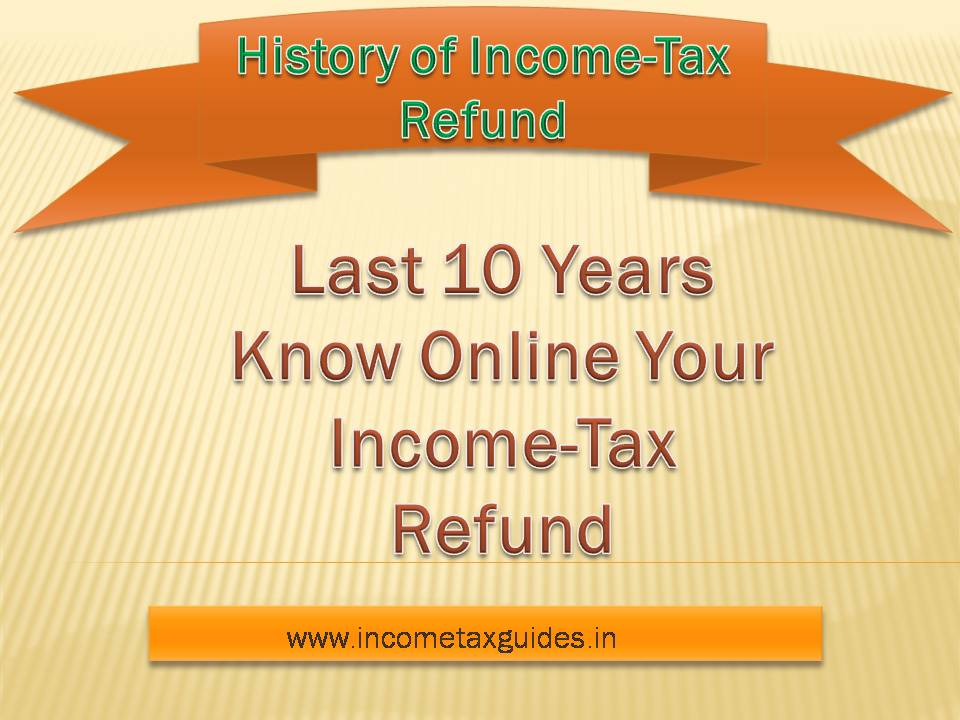 income tax refund online application