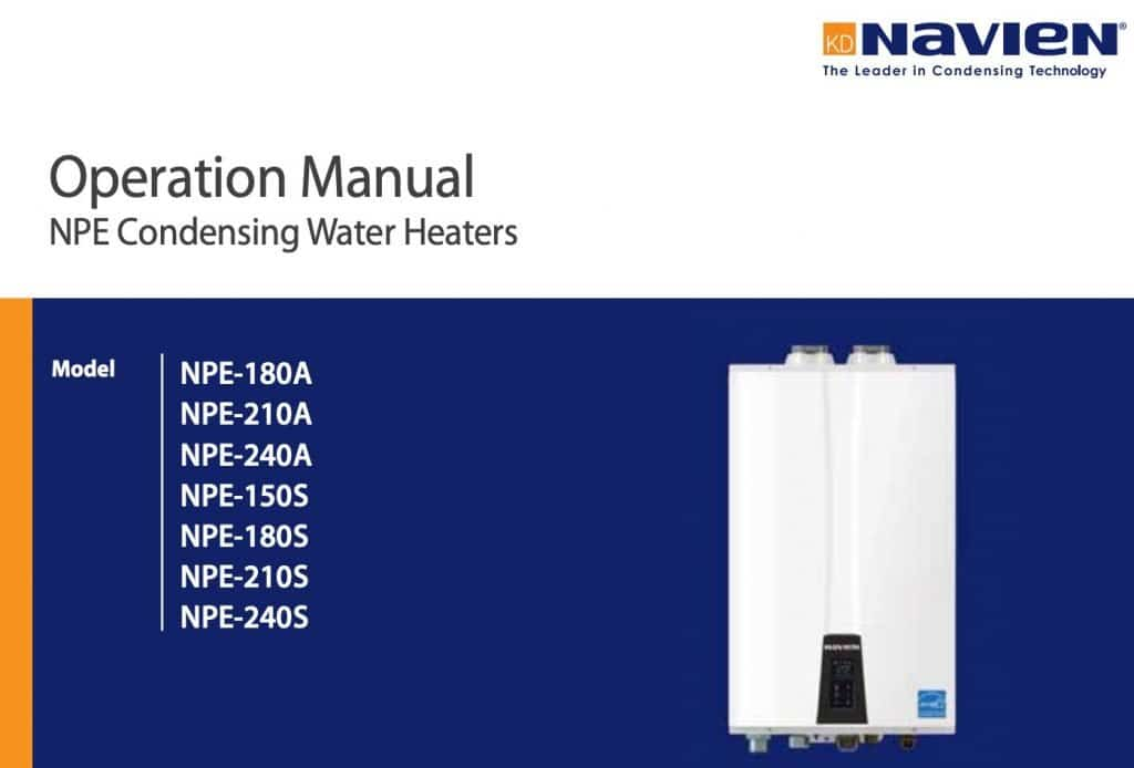 instant heater manual